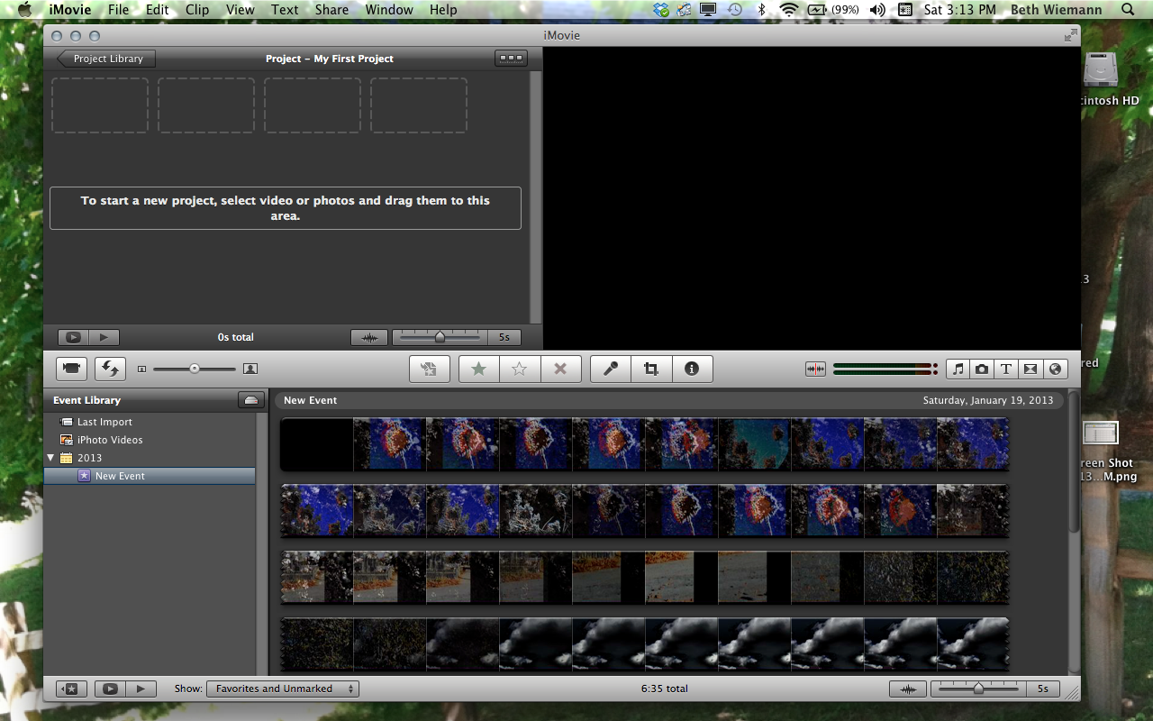 how to change text colour half way in final cut