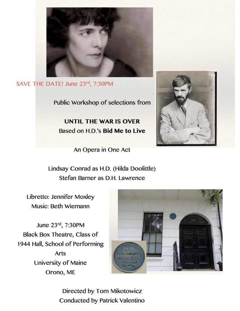 until the war small workshop save date